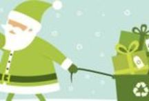 Green Your Holidays / Tips and tricks to keep your holiday festivities clean and green.  / by Keep America Beautiful