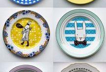 A table! / Assiettes, verres, lunchbox mais aussi accessoires pour devenir un vrai petit chef: les enfants s'approprient la cuisine!