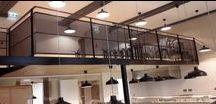 Architecture / Escalier métallique, charpente métallique, passerelle, porte portail, etc. Le sur-mesure à votre disposition.