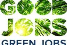 Climate - Smart Careers, Jobs, and Professional Education in Green Industries / Climate Change Solution: Work to Save the Planet, not destroy it.  Transition from a Fossil-Fuel Powered Economy to a Renewable Energy Powered Economy.  Making the transition itself will create jobs, and the nature of those new jobs will be healthier and more sustainable. #Green #Jobs #Careers #Renewable Energy, #Environmental Protection,  #Sustainability, #Resilience.  Rather than work to ruin the Earth for profit, this board is about careers focused on sustaining our planet and society,