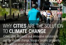 Climate - Smart Cities: Climate Change and City Impacts and Solutions / #Climate #Change and #Cities: Issues, principles and practices for transitioning from #fossil #fuels to a more sustainable future.