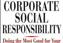 Climate - Smart CSR: Climate Change & Corporate Social Responsibility / Corporations taking responsibility for their role in global sustainability issues, particularly Climate Change, Global Warming, Human Rights, Resource Depletion, and protection of the #Earth.