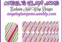CHRISTMAS Jamberry Nail Wraps by Angel's Glam Jams / Christmas Jamberry Nail Wrap Designs by Angel's Glam Jams! ORDER HERE: http://angelsglamjams.weebly.com/exclusive-nail-wraps.html  #jamberry #nailart #nailwraps #NAS #nailartstudio #christmas