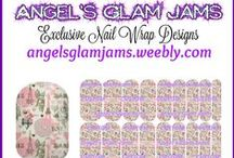 PARIS & EIFFEL TOWER NAIL WRAP DESIGNS by Angel's Glam Jams / Love Paris & the Eiffel Tower?  Wear them on your nails!  Check out Angel's Glam Jams Paris Nail Wrap Collection! ORDER HERE: http://angelsglamjams.weebly.com #jamberry #nailart #nailwraps #NAS #nailartstudio  #Paris #EiffelTower #Eiffel #Nails #NailWrap