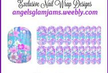 FLORAL Jamberry Nail Art Studio Nail Wrap Designs by Angel's Glam Jams / FLORAL Jamberry Nail Art Studio Nail Wrap Designs by Angel's Glam Jams ORDER HERE: http://angelsglamjams.weebly.com  #flowers #floraldesigns #NAS #nailartstudio #jamberry #nailwraps