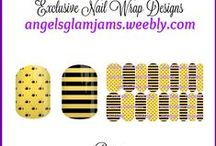 INSECT Jamberry Nail Art Studio Nail Wrap Designs by Angel's Glam Jams / INSECT Jamberry Nail Art Studio Nail Wrap Designs by Angel's Glam Jams ORDER HERE: http://angelsglamjams.weebly.com  #butterfly #bee #dragonfly #jamberry #nas #nailartstudio #nailwraps #nailwrapdesigns