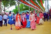 Moda Flamenca / Moda Flamenca, Ferias, Andalucía, Sevilla, Lebrija