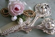 Pearls, Perfume & Lace / Ahhh! Three of my most favourite things....