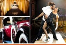 Event Day: Vintage Gala - Gatsby Inspired Affair / Roaring 20's event style! Great Gatsby himself would have loved this fun loving affair inspired by the freewheeling era!
