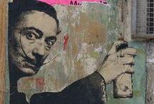street art / street art, graffiti