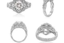 Engagement Rings with a Vintage Look / The Vintage look is really taking off for new brides and Maurice Badler Fine Jewelry has a great selection. We will help you find the ring of your dreams. Just call 800-622-3537.