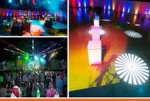 Event Day: Studio 54 Corporate Party! / Entertainment Services and Vendor Coordination by Maple Ridge Events in Nashville, TN! Music City parties Studio 54 style.