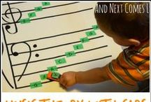Music and Musicians Theme- Weekly Home Preschool / Homeschool preschool ideas for a music and musicians theme week.  Crafts, learning activities, math, literacy, picture books, science, gross motor, fine motor, snacks, and more!