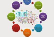 Smart Cities - IoT / Informational content and Infographics on Smart Cities in the context of Internet of Things (IoT)