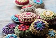 Knit & Crochet Tales / just like a fairytale ... Mix & Match different shapes & Colors.