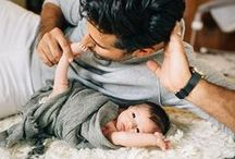 dad and baby :* :*