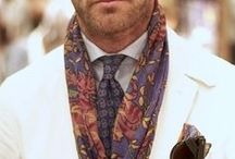 Men's Fashion: The Tie Issue / Ties, ascots, scarves, foulards