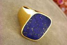 ring of lapis / lapis lazuli mens rings