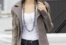 Stylish Women Wear Pearls / Now is the Best Possible Time to Buy the Pearl Necklace You Have Always Wanted. www.badler.com
