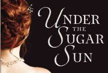 Under the Sugar Sun by Jennifer Hallock / A schoolmarm, a sugar baron, and a soldier . . .  It is 1902 and Georgina Potter has followed her fiancé to the Philippines, the most remote outpost of America's fledgling empire. But Georgina has a purpose in mind beyond marriage: her real mission is to find her brother Ben, who has disappeared into the abyss of the Philippine-American War. $2.99 or FREE on Kindle Unlimited at http://bit.ly/sugarsun
