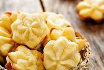 -BISCOTTI- ricette & idee / #biscotti #biscottisenzaburro #biscottisenzauova