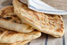 LIEVITATI RICETTE / #lievitati #pane #pizza #crackers #pane_carasau #pane_pita #grissini