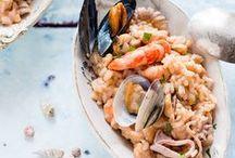 RISO RICETTE / #risotto #ricette_riso #insalata_di_riso #riso #riso_al_forno