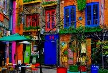 Colori / Gli oggetti e gli ambienti che ci circondano sono in gran parte colorati. La conoscenza della 'teoria dei colori' è affascinante e varia...