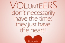 Volunteer Quotes & Inspiration / Great quotes for #PTAs, #PTOs, volunteers, and parents.
