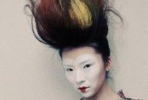 VIVIENNE WESTWOOD / Vivienne Westwood x TIGI hair seesion styling