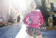Fashionable and Stylish Lady Runners  / Fitness and beauty