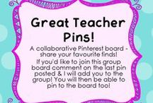 Great Teacher Pins! / A collaborative board - share your favourite finds! If you'd like to join this board comment on the last pin posted & I will add you. / by Relief Teaching Ideas
