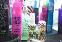 RIHANNA x River Island // Bed Head / Johnnie Sapong used Bed Head products backstage at Rihanna For River Island!