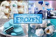 Let's Throw A FROZEN Party!! / Decorations, food, games, favors and more for DISNEY'S FROZEN fun!! ^-^ / by Chanel Kuykendall