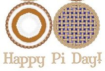 Pi Day / Lots of fun ideas to celebrate Pi Day--even some pie!