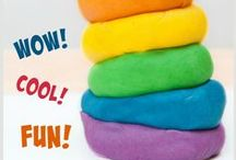 Slime, Play Dough and Goo / Play dough, silly slime, goo, goop, ooblek and other science , sensory and art ideas for kids. Children-friendly recipes and activities to play with! / by Mini Monets and Mommies