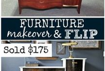 furn makeovers / how to's for making over second furniture hopefully to resell.