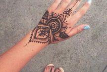 Henna/tattoo