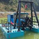 Dragflow cable dredge for mining project (Indonesia, 2015)