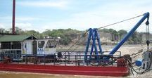 Sand and Gravel Dredge (Colombia, 2013)