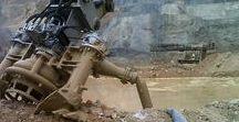 Open pit mine clean up (Peru, 2012)