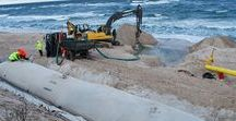 Dredging with geotextiles (Poland, 2012)