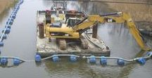 Channel dredging (Germany, 2010)