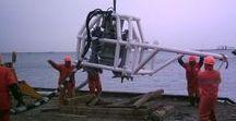 SAIPEM Off Shore dredging (Azerbaijan, Baku, 2007)