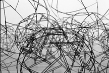 art wire / wire.. one of the most challenging things to work with...