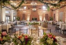The Ballroom, Terrace & Parlor / Welcome to The Ballroom, Terrace & Parlor at Cork Factory Hotel in Lancaster, Pennsylvania.  Guests will find themselves mesmerized under the lighting of rustic chandeliers and ready to celebrate on a hardwood dance floor.  Beautiful vaulted ceilings are accentuated with a large brick fireplace that creates an intimate space.