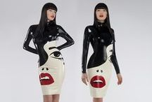 Dressing For A Night Out / Sexiest latex dresses, tops, skirts and outfits for a show stopping look.
