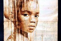 Altered Art.. Art Journals.. Paper Craft.. / by Thea Burras