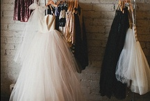 Future Wedding Gown / A combination of gowns that inspire me to actually want a wedding.  / by Keri Pfeiffer