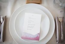 (Rock) PAPER (Scissors) / Wedding invitation inspiration, from DIY options to paper choices, and everything in between. / by A Practical Wedding
